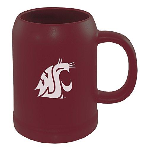 Washington State University -22 oz Ceramic Stein Coffee Mug-Burgundy