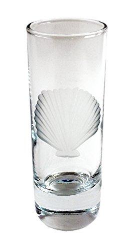 Seashell Glass Cordial 25oz