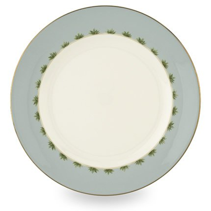 Lenox Colonial Tradewind Gold Banded Bone China Dinner Plate