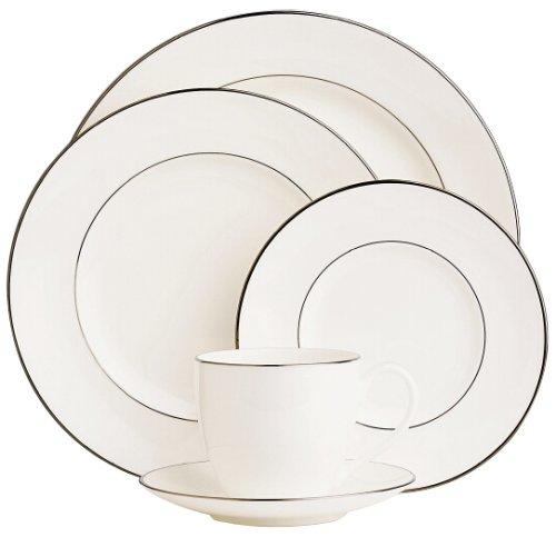 Lenox Continental Dining Platinum Bone China Dinner Plate