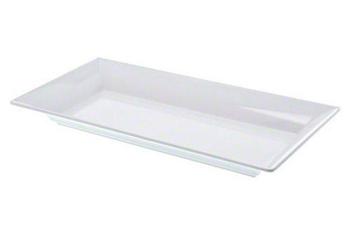 American Metalcraft MEL23 Endurance Melamine Rectangular Platter 18 x 825 White