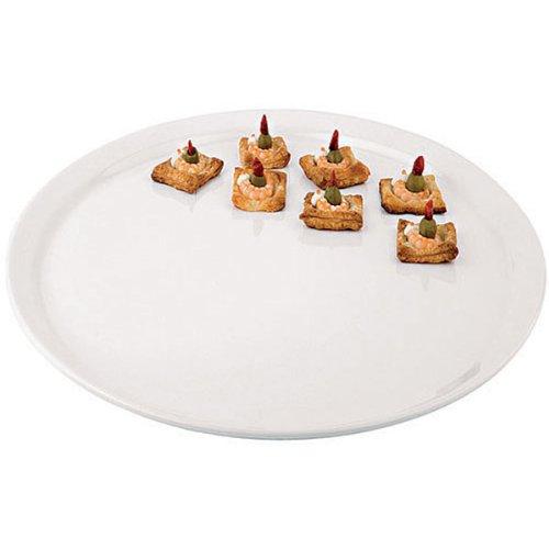 Aps Paderno World Cuisine Round White Melamine Platter 20-Inch