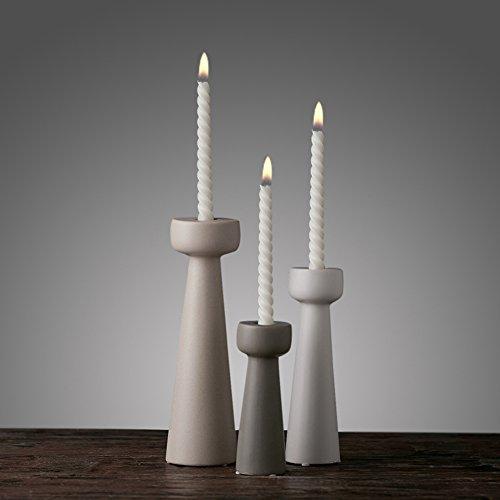 European ceramic candlestick ornaments high-end home living room candlestick ornaments-A