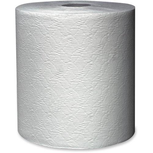 Kleenex Non-perforated Paper Towel - 12  Carton - 8 x 425 ft - White - Paper