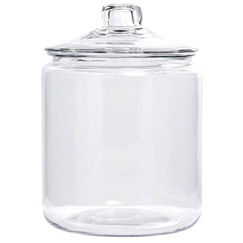 Glass Cookie Jar 1 Gallon