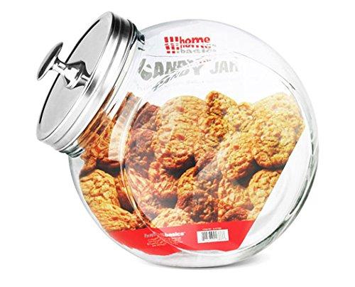 Home Basics GJ01386 Glass Cookie Jar X-Large