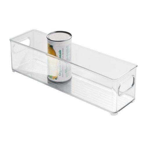 InterDesign Refrigerator and Freezer Storage Container – Deep Organizer Bin for Kitchen Clear