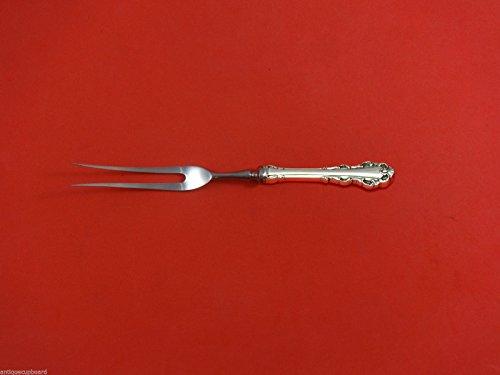 Dresden Scroll by Lunt Sterling Silver Serving Fork  Roast Beef Fork Custom