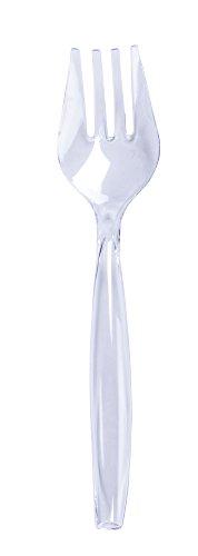 Minel 12 Piece Silver Serving Fork Set