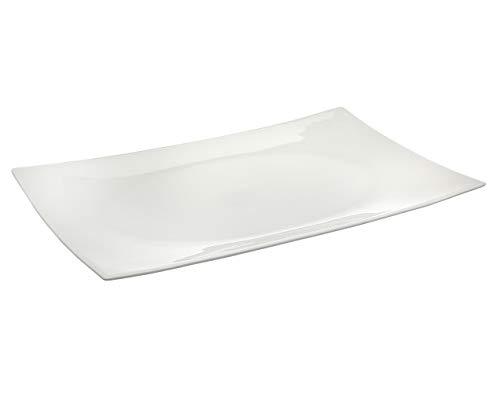 Godinger Bone China Square Serving Tray Platter - 12