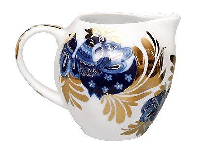 Lomonosov Porcelain Creamer 22 Karat Gold Golden Garden 118 floz350 ml