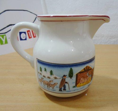 Villeroy Boch Naif Christmas Porcelain Creamer Laplau