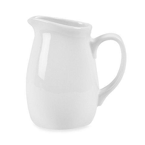 White Porcelain Creamer 15 Oz by Everyday White
