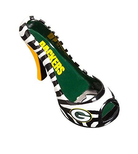Green Bay Packers Nfl Sports Team Logo Fan High Heel Shoe Drink Beer Beverage Bottle Opener