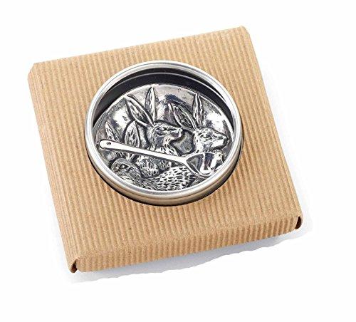 Mud Pie Easter Kitchen Table Decor Cast Metal Bunny Salt Cellar Set 4511003