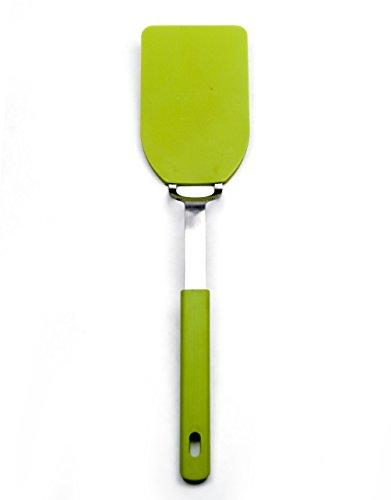 RSVP Medium Nylon Nonstick Flexible Spatula Green