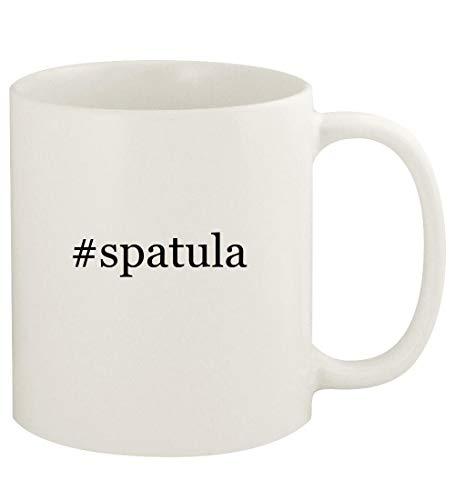 spatula - 11oz Hashtag Ceramic White Coffee Mug Cup White