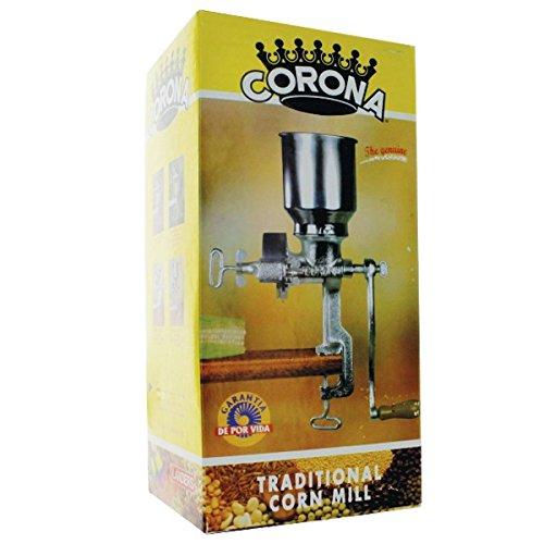 Corona® Corn & Grain Mill With High Hopper