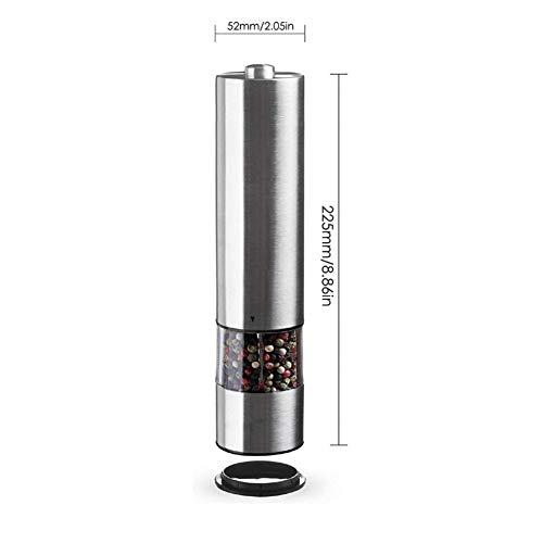 LBPYRMIGV Stainless Steel Pepper grinder Electric Pepper grinder Grinder Manual Pepper Grinder Coffee Grinder