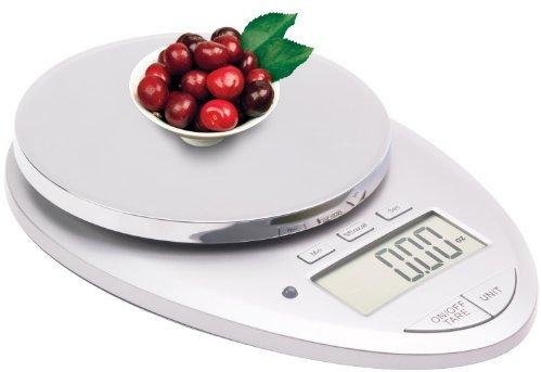 Ozeri Pro Ii Digital Kitchen Scale In Elegant Chrome, 1g To 12 Lbs Capacity, With Countdown Kitchen Timer