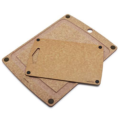 Epicurean 17534 x 1334 Nonslip Groove Cutting Board with Bonus 1334 x 8534 Board 505-181301003-S
