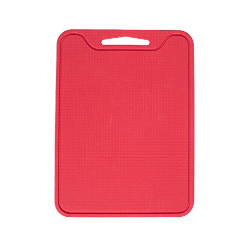 Unicook Flexible Silicone Cutting Board-red,non Slip, Sturdy,food Grade,non-toxic!