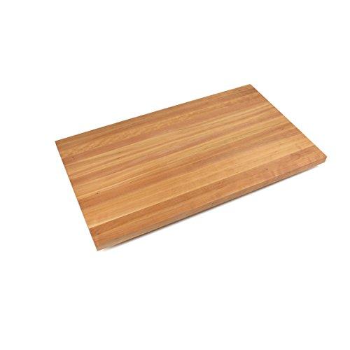 John Boos Edge-Grain Cherry Butcher Block Countertop - 3 Thick 145 L x 30 W Natural Oil