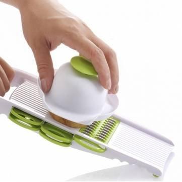 5PcsSet Fruit Vegetable Shredder Slicer Shredding Device Multi Function Manual Potato Cutter