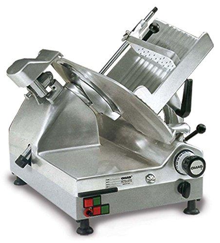 Omcan 13645 Commercial Heavy Duty Italian 13 Meat Vegetable Slicer ETL NSF