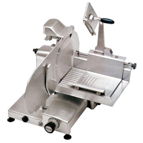 Omcan 13657 Commercial Heavy Duty Italian Horizontal 14 Meat Vegetable Slicer ETL