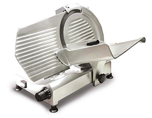 Omcan 21624 Light Duty Italian Made 12 Deli Meat Vegetable Slicer Compact Body