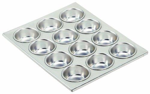 Crestware 12 Cup Aluminum Muffin Pan