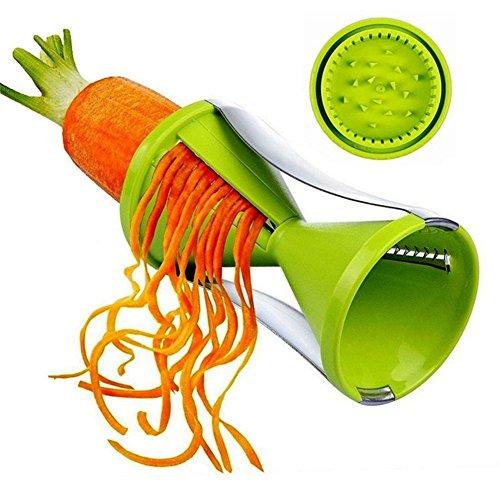 2PCS Vegetable Spiralizer Grater Vegetable Spiral Slicer Cutter Spiralizer for Carrot Cucumber Courgette Kitchen tools gadget