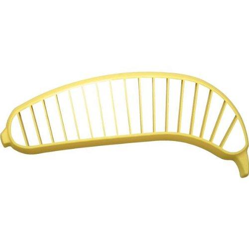 Fackelmann 10 Plastic Banana Slicer Yellow