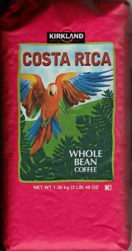 Costa Rica Whole Bean Coffee Dark