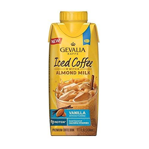 Gevalia Kaffe Iced Coffee with Almond Milk Vanilla 111 fl oz
