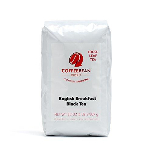 Coffee Bean Direct English Breakfast Loose Leaf Tea 2 Pound Bag