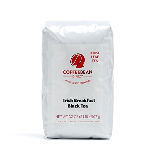 Coffee Bean Direct Irish Breakfast Loose Leaf Tea 2 Pound Bag