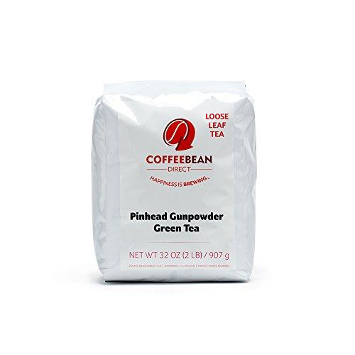 Coffee Bean Direct Pinhead Gunpowder Loose Leaf Tea 2 Pound Bag