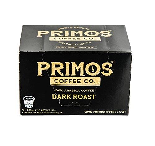 Single Origin Specialty Coffee 36 Single Serve Coffee Cups Primos Coffee Co Dark Roast