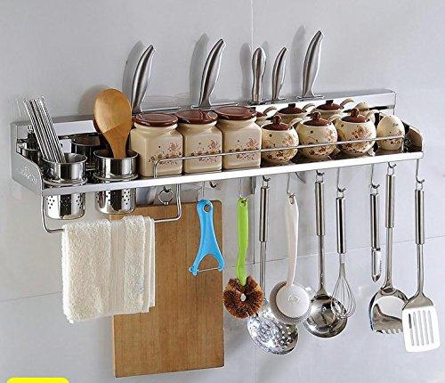 Multipurpose Stainless Steel Kitchen Utensils Organizer Holder 31 Wall Mounted Pan Pot Rackspice Rack Spoon Ladle Hangerknife Blocktowel Racksilverware Caddy
