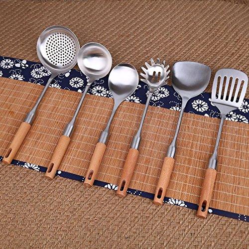 MDRW-304 stainless steel kitchen utensils kitchen spatula setSix piece suit