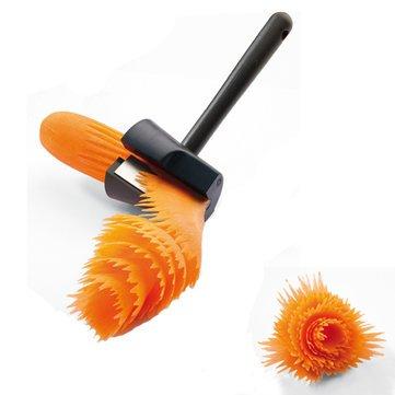 Kitchen Tools Gadgets - Creative Kitchen Cutter Fruit Vegetable Slicer Cucumber Shredder - Fruit Vegetable Slicer - 1PCs