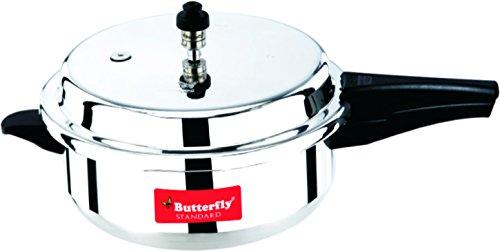 Butterfly SP-SP Standard Plus Aluminum Senior Pan Pressure Cooker 55-Liter