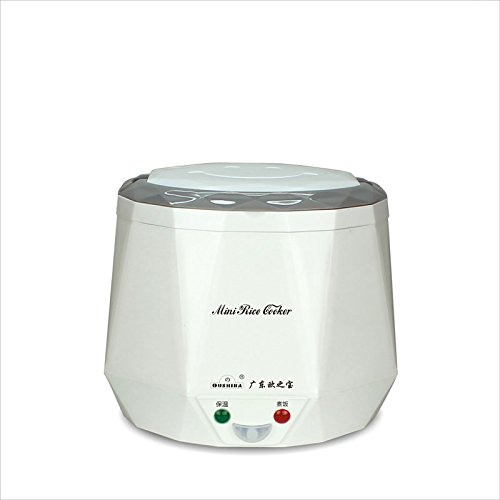 Multi-function Mini Rice Cooker 12v 13L For Rice Soup Noodles VegetableHeating for car13L White
