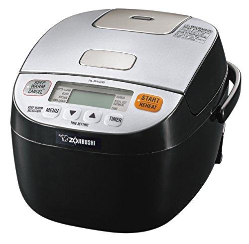 Zojirushi NL-BAC05SB Micom Rice Cooker Warmer Silver Black