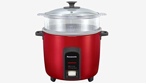PANASONIC Rice CookerSteamer SR-Y18FGJ Burgundy 10 cup