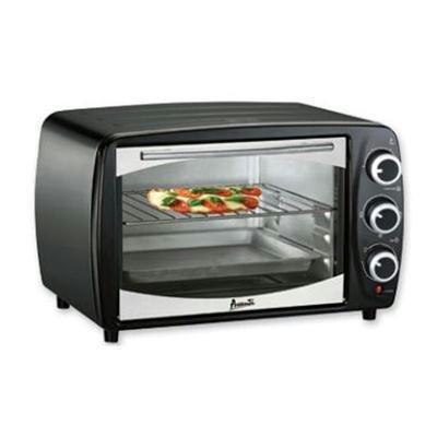 06 Cu Ft Toaster OvenBroiler Combo - Black