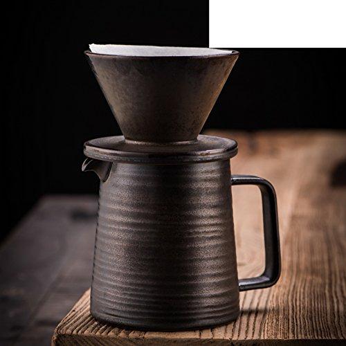 ceramics American style black Coffee Pots