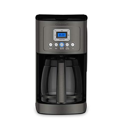 Cuisinart DCC-3200BKS Perfectemp Coffee Maker Black Stainless Steel Renewed